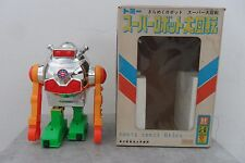 "Rare Somersaults ""S"" Robot Battery Operated by Tomy Made in Japan 1960's Box"