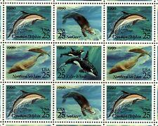 Us Scott 2508-2511 Sea Creatures Full sheet of 40 Mint Nh