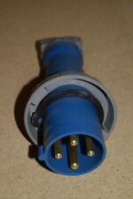 MENNEKES / HUBBELL 460P9W ME460P9W 60A 4W 250VAC  WATERTIGHT PLUG (#6)