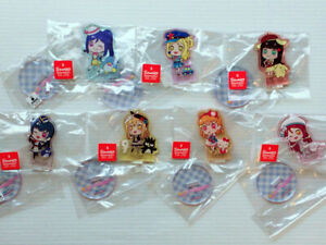 Love Live! Sunshine!! × Sanrio Mini Acrylic Stand Panel Premium Shop Limited