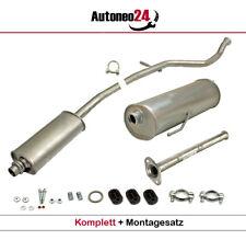 Mittelrohr Montagezubehör  Auspuff Peugeot 107 1.0i 12V NEU