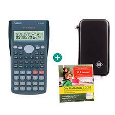 Casio FX 82 MS CALCOLATRICE + borsa di protezione e la matematica Fritz apprendimento CD