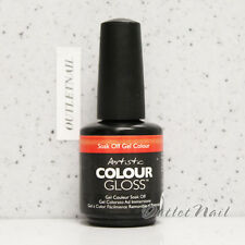 Artistic Nail Design >> PART B Colour Gloss Soak Off Gel Colour - SHIP IN 24H