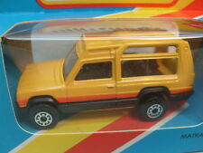 1983 MATCHBOX LESNEY SUPERFAST MB37 MATRA RANCHO BLUE BOX MIB