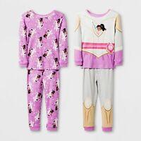 Girls Nella the Princess Knight Cotton Unicorn Pajamas pajama 3T 4T 5T ONE SET