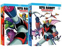 UFO ROBOT GOLDRAKE COLLEZIONE 2 BOX (7 BLU-RAY) SERIE TV Yamato Video