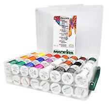 Madeira Overlock Inspiration Box pour Magnifique Décoratives 8048