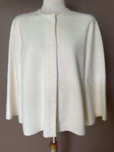 """Jacke Stefanel """"Knitted Jacket"""", XL, NP: 229,90€, crème"""