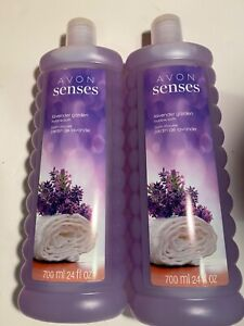 Avon Senses Bubble Bath ~ 24 Oz. ~ Lavender Garden ~ New Stock Sealed ~ Lot of 2