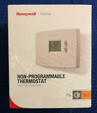 Honeywell Home Horizontal Digital Non-Programmable Thermostat RTHL111B Brand New
