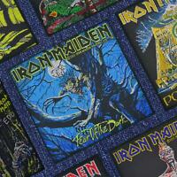Iron Maiden Fear Of The Dark Officially Licensed Woven Patch