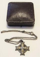 WW2 George VI Canadian Memorial Cross Medal with case K.65546 Pte. N.F. Mcleod