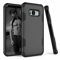 Slim Hybrid Hard PC+TPU Armor Silicone Shockproof Case Cover For Samsung S8 Plus