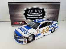 NASCAR 2017 JIMMIE JOHNSON # 48 DARLINGTON LOWES 1/24 DIECAST CAR