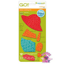 Accuquilt GO! Fabric Cutter Die Overall Sam Baby Quilt Sew 55062