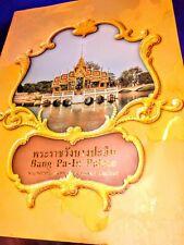 History of Bang Pa-In Palace, Ayutthaya Thailand 2005, In Thai & English