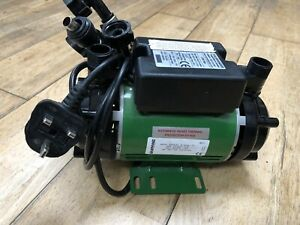 Salamander CT50 Twin Shower Pump system with Lemac Motor