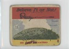 1937 Wolverine Gum Believe It or Not! #15 The Largest Tree in the World Card g3e