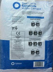 Building Cement Blue Circle Snowcrete White Cement Pick Weight