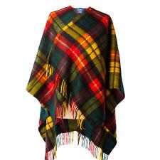 Edinburgh 100% Laine D Agneau de Luxe Tartan Rouge Mini Cape - Buchanan  Moderne 0f462913f64