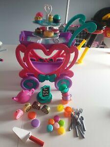 Kids toy tea set