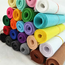 Roll/ Yard STIFF FELT FABRIC Non Woven Blend Crafts DIY Material Thick Patchwork