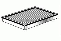Luftfilter - Bosch 1 987 429 404
