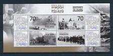 [81159] Ghana 2009 Second World war Invasion of Poland Sheet MNH