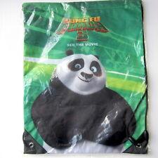 Kung Fu Panda 3 -Official Studio Promo Drawstring Bag NOT PROP DREAMWORKS