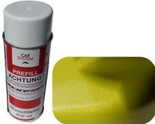 1x Spraydose 400ml 1K Brillant Gelb Grün Metallic Glanz Autolack kein Klarlack