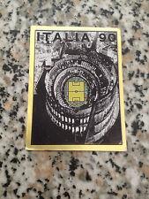 POSTER N. 3 album CALCIATORI ITALIA 90 PANINI OTTIMO CON VELINA DA BUSTINA