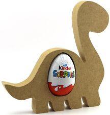Dinosaur Pack of 3 Freestanding MDF Kinder Egg Holder Easter Gift craft Shape