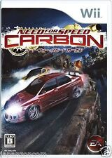 Used Wii Need For Speed: Carbon Nintendo JAPAN JP JAPANESE JAPONAIS IMPORT