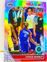 Patrick Beverley 2019-20 NBA Hoops Premium Stock Silver Prizm Card #271 Clippers