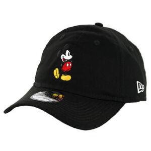 "New Era 9Twenty ""Canvas Mickey Mouse"" Strapback Hat Men's Women's Disney Cap"