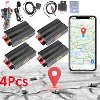 Lot4 Car GPS SMS GPRS Tracker Vehicle Real Time Tracking Device -4 Tracking Ways