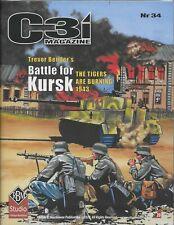 GMT C3i Magazine #34 RBM Studio 2020 Battle for Kursk Free Shipping