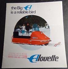 VINTAGE 1968 ALOUETTE SNOWMOBILE SALES BROCHURE  6+ PAGES  (116)