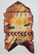 Mail art/il fantasma del passato/Le stampa di opere d'arte originali di S hahonin