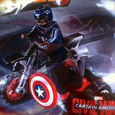 LEGO 30447 Marvel CAPTAIN AMERICA'S MOTORCYCLE Super Heroes 25 PCS Polybag NEW