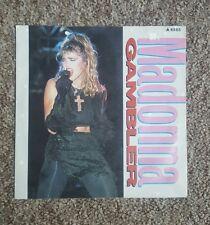 """Madonna rare Gambler UK 7"""""""