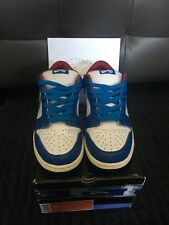 NIKE SB DUNK LOW NEPTUNE J PACK BLUE (size 10.5) (2006) RARE!!