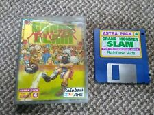 Commodore Amiga games-grand Monster Slam-VINTAGE RARE retro