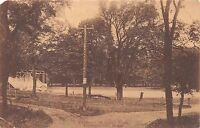 BRECKENRIDGE MINNESOTA ENTRANCE TO ISLAND PARK PHOTO POSTCARD 1912?