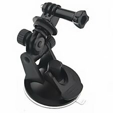 Car Suction Cup Base Holder Tripod Mount Adapter for GoPro HERO2/3/3+ black LWUS