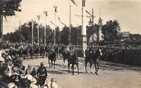 CPA GUERRE 1914 FETES DE LA VICTOIRE LES MARECHAUX JOFFRE ET FOCH
