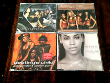 BEYONCE/DESTINYS CHILD 4 RARE CD SINGLES IF I WERE A BOY,INDEPENDENT WOMEN ETC