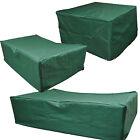 Telo di copertura telo di protezione per mobili da giardino verde 3 misure