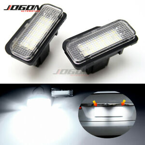 Car Trunk Number License Plate Light For Tesla Model S 2012-2018 Plug and Play