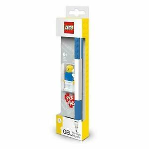 LEGO Gel Pen with Minifigure Blue NEW - Offiical - Gift Idea -